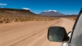 A road near the great Salar de Uyuni.