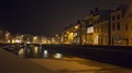 Middelburg by night jachthaven