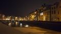 Middelburg by night jachthaven