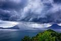 Storm over Lake Atitlan, Guatemala