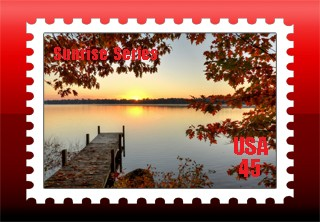 Sunrise Stamp