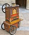 Portable street organ