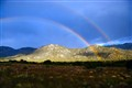 Double Rainbow over the Sandias