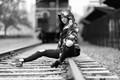 On the tracks.....