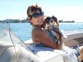 Linda and Louie Boating