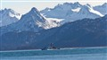 Coast Guard coming into Homer, Alaska