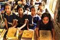 Schoolkids in Cox's Bazar