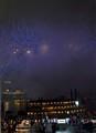 Riverfest Blue fireworks