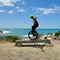 """Uni-muni: I'ts my favorite ride. This is a 29"""" Unicycle, & I love to go mounting-muni cycling + doing the odd stunt or two :)"""