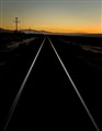 Mojave Evening Twilight