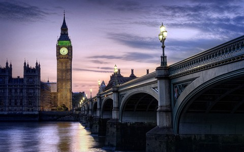 Palace of Westminster and Westminster Bridge