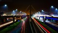 Light Trails at Lahore Azadi Flyover