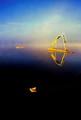 Slide and Raft at Sunrise