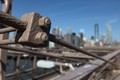 Bolts on Brooklyn bridge