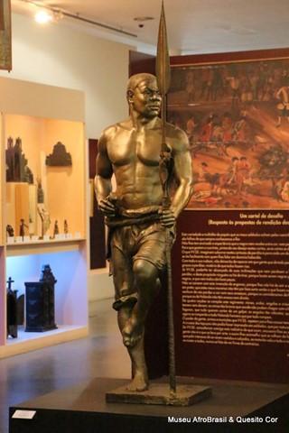 Museu Afro Brasil & Quesito Cor - Zumbi dos Palmares