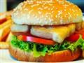Home made Fishburger