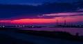 Midia refinery @ dusk
