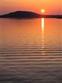 Sundown at the Arctic Circle