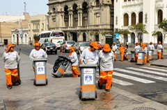 Let s go to clean the city - Lima
