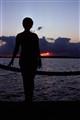 Last Kodachrome Sunset - Silhouette
