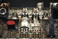 Engine section - pistons and valves