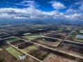 Looking Down Early Spring Farm Plain