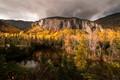 Charlevoix Golden Autumn Scenery DP