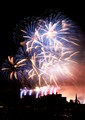 edinburgh castle midnight