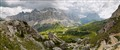 panorama Italian Dolomites