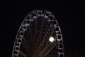 Full moon over Brighton