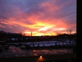 Sunset, Pittsburgh, Jan 4 2012