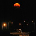 Moonrise over bypass