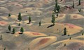 Painted Dunes - Lassen Volcanic National Park, California