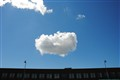 'baby' cloud over Fremont