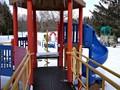 Winter quiet at Riverside Park