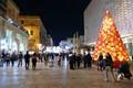 Mdina Glass Christmas Tree, Valletta, Malta
