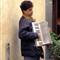 Orvieto-Musician Outside Restaurante