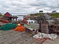 organized chaos - dock at Peggys Cove (1 of 1)