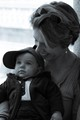 Flavio with mum at Montecassino