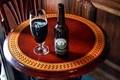 Brown table, brown ale