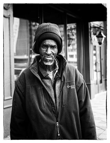 Downtown Homeless Man