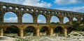 Antique roman Pont du Gard