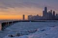 Pre sunrise chicago Portfolio