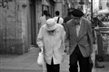 Elderly Couple in Paris