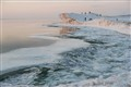 Cracking Wave Sheets and Icebergs