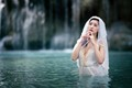 waterfall bride