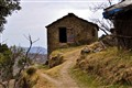 A hut in a obscure little village in the hills