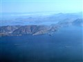Greek Coastline, from a flight to Rhodes