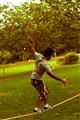 tightroping..