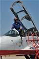 Proud Russian pilot